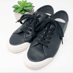 Rag & Bone Standard Issue Black Leather Sneakers